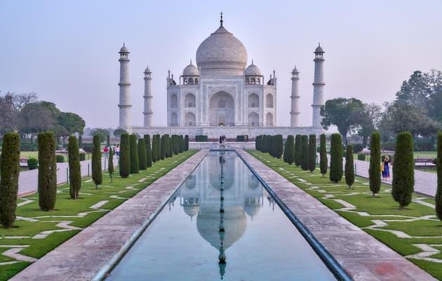 ताजमहल आगरा इंडिया दुनिया के सात अजूबे में से एक