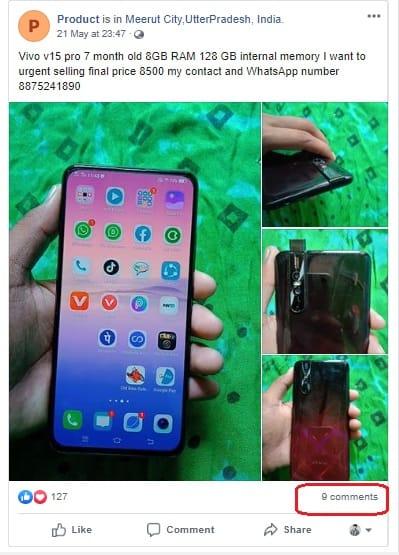 sell old product on facebook फेसबुक से पैसे कैसे कमाए