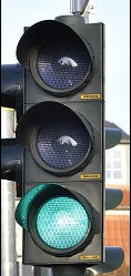 green light Traffic rules in hindi