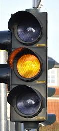 yellow light Traffic rules in hindi